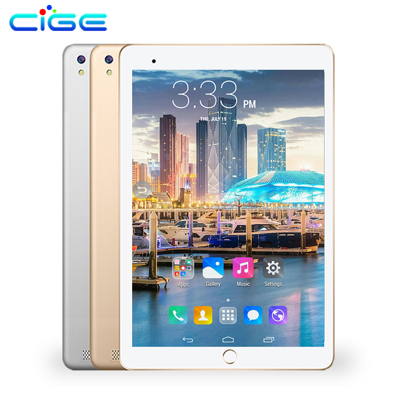 CIGE newest 10.1 Octa Core 3G 4G LTE Original Android 6.0 Tablet PC 4G RAM 64G ROM 1280X800 IPS Dual SIM Phone Call Tablets cige 10 1 inch 3g 4g lte 1280x800 android tablet pc octa core 4gb ram 32gb rom dual sim phone call tablets wifi gps bluetooth