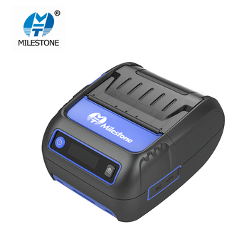 Milestone Label Receipt Thermal Printer 58mm Portabel Mini Mobile Printer Bluetooth Label Maker POS Android IOS MHT-P58F