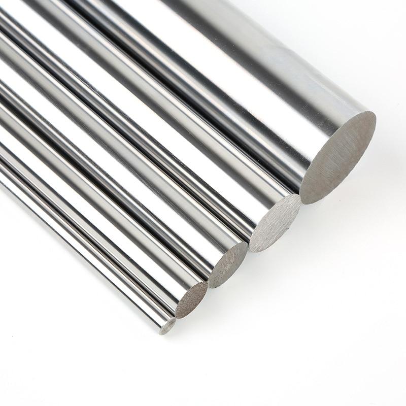 6mm 8mm 10mm 12mm 16mm Linear Shaft L 100 150 200 250 300 350 400 500 600 700 Mm Chromed Linear Rail Round Rod For 3d Printer