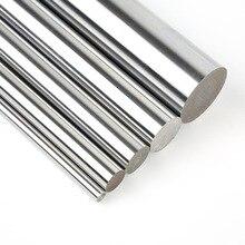6 мм 8 мм 10 мм 12 мм 16 мм линейный вал L 100 150 200 250 300 350 400 500 600 700 мм хромированные линейной направляющей круглый стержень для 3d принтера