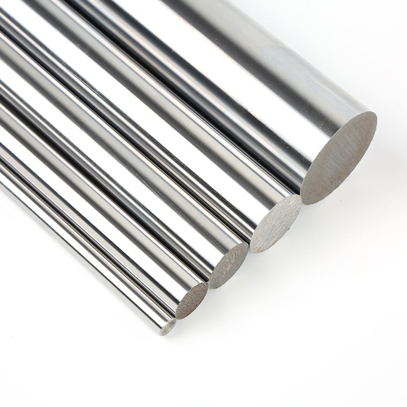 chrome PDTech 16mm dia hardened steel linear bearing rod rail custom cut USA