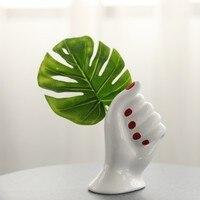 Handmade vases hand shaped art vases decorative ornaments artdecors nordic flowers vase