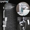 GAPPO Смесители для ванной комнаты водопроводные краны ванная комната смеситель для душа кран для раковины система для душа
