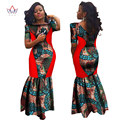 Bodycon Плюс Размер африканские платья для женщин Кружева платья Бренда пользовательские Одежда Африка Воск Dashiki Тонкий Cut Sexy Dress BRW WY694