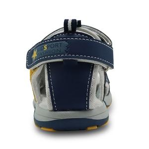Image 3 - Сандалии Apakowa детские с закрытым носком, спортивные пляжные босоножки с поддержкой свода стопы, летняя обувь