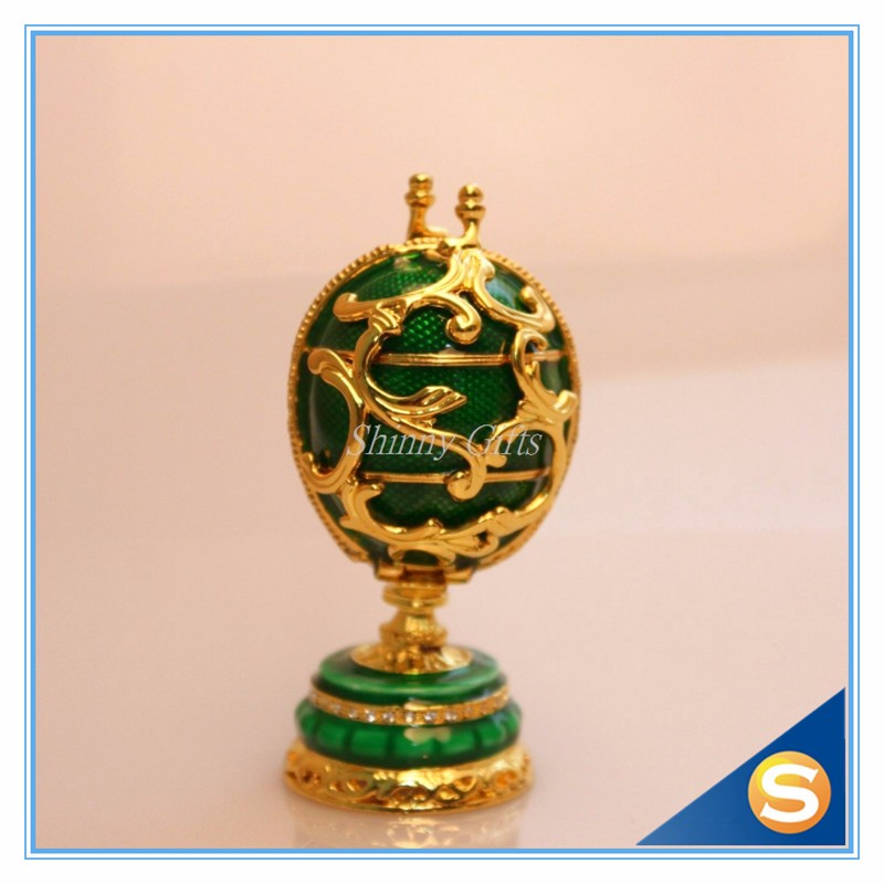 Home Craft jewelry box jewelry ornaments palace eggs Easter Egg gift ... 4b2ed9f87356