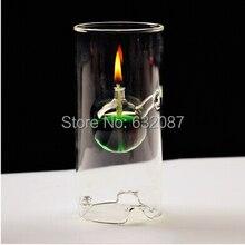 Высота = 18 см маленький размер креативная стеклянная масляная лампа красивый цилиндр свадебный подарок Любовь стеклянная лампа ручной работы 3 разных размера s