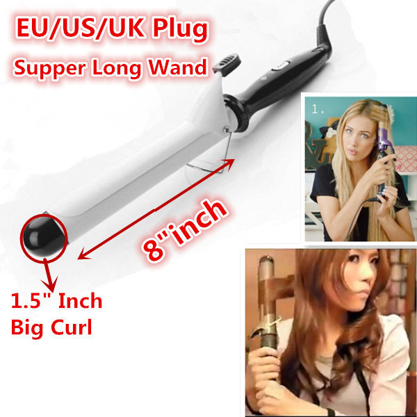 1 5 Inch Curling Iron Hair Styles Ceramic Curling Iron 15