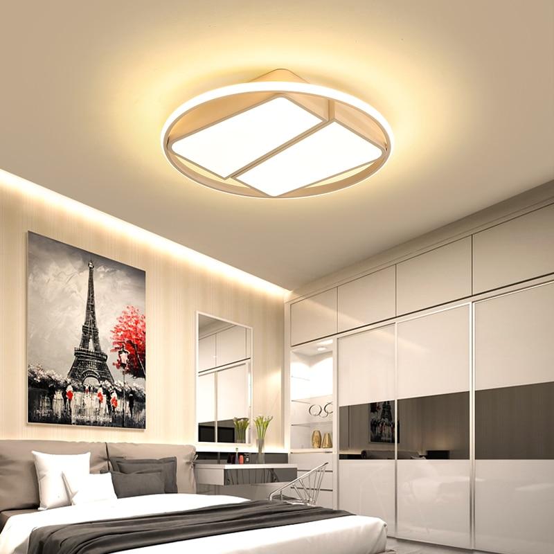 Modern Led Ceiling Lights with Remote Control Ceiling Lamp for Living Room Flush Mount Indoor Lighting Bedroom Kitchen Bathroom цена