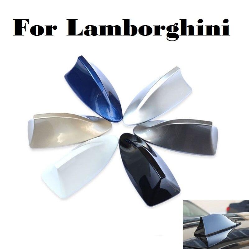 Antenne décorative de toit de requin | Nouvelle voiture aérienne pour Lamborghini Aventador Gallardo Murcielago Reventon Sesto Elemento Veneno