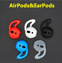 Silicone Cover Earbuds Earphone Case for Apple Iphone X 8 7 Plus for Airpods Earpods Headphone Eartip Ear Wings Hook Cap Earhook