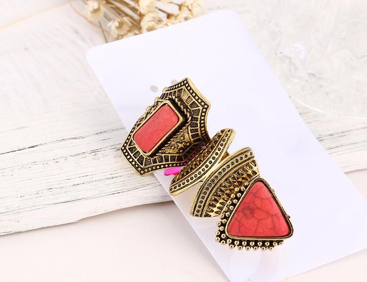 HTB1IDYhMVXXXXbFXFXXq6xXFXXXx Boho Style 3-Pieces Vintage Punk Knuckle Ring Set For Women - 2 Colors