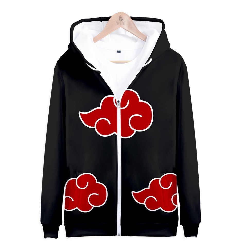 2059a4b78 Hokage Ninjia 3D Hoodie Men Anime Naruto Akatsuki 3D Print Cosplay  Sweatshirt Long Sleeve Hoody Streetwear