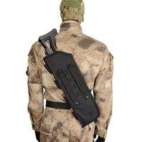 """19""""Tactical AK Rifle Scabbard Molle Bag Military Shoulder Sling Padded Shotgun Holster Backpack shotgun holster shotgun padded holster molle -"""