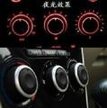 Montaje Ajustes para Kia Rio A/C perillas de control de calor de aire acondicionado AC interruptor del panel accesorios productos autos del coche