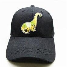 926f7516491 Long-necked dinosaur embroidery cotton Casquette Baseball Cap hip-hop cap  Adjustable Snapback Hats
