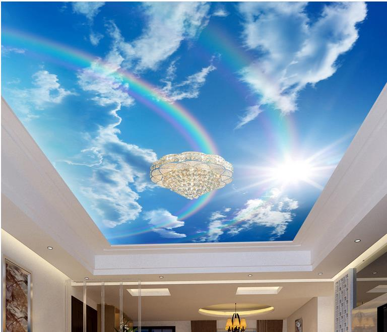 Wa S Leading Supplier Of High Quality Ceiling: Compare Prices On Wallpaper Rainbow- Online Shopping/Buy