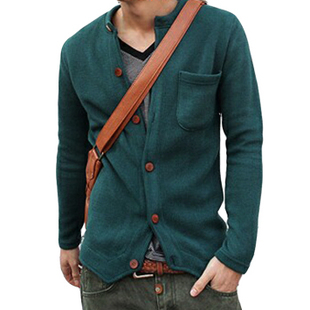 2013 new style spring clothes male Korean men cardigan sweater ...