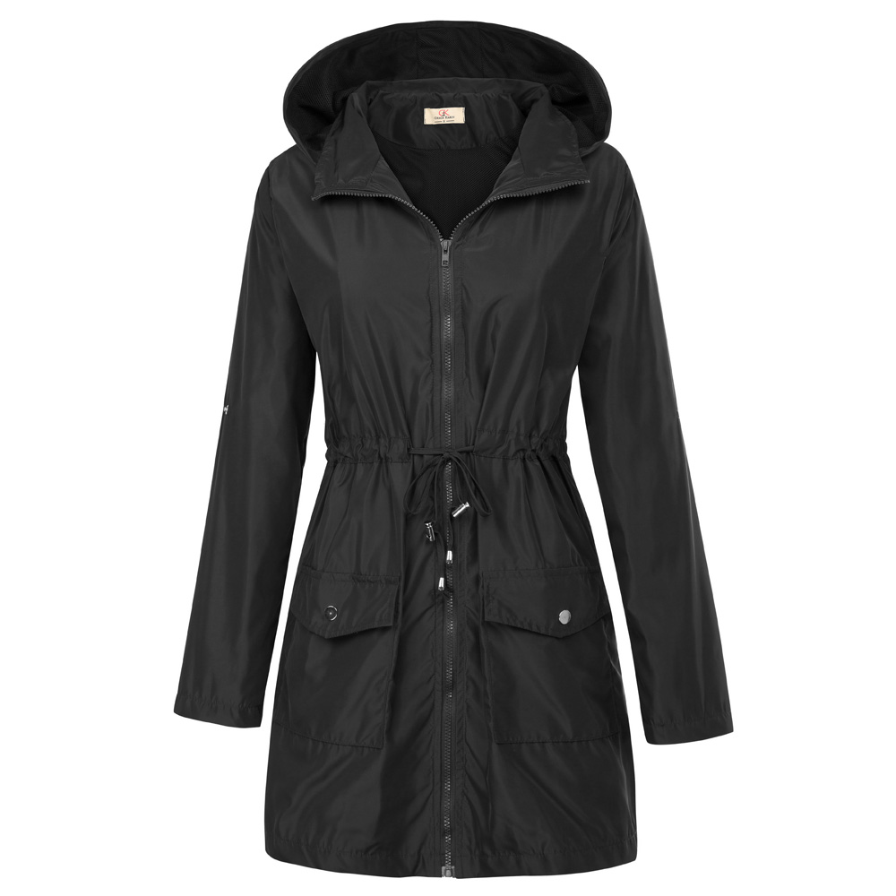 Autumn Winter Jackets Women Waterproof Hooded Coat Windproof Warm Female Jacket Jaqueta Feminina Rain Jacket Coats Windbreaker