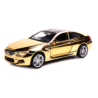 M6 Shining Cover 1 32 Diecast Alloy Metal Car Vehicles Model Christmas Birthday Gift For Children