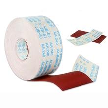 0.5 1M שמיר בד רול ליטוש נייר זכוכית 60 600 חצץ 100 115MM עבור טחינת כלים מתכת Dremel נגרות רהיטים