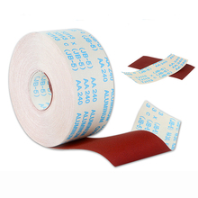 0.5 1M Emery Cloth Roll Polishing Sandpaper 60 600 Grit 100 115MM  For Grinding Tools Metalworking Dremel Woodworking Furniture