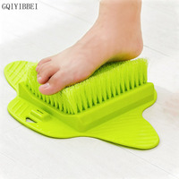 GQIYIBBEI Skin Massage Shower Rubbing feet Brush Sole cuticle cleaning brush Foot washing with Sucker Remove dead skin Tender