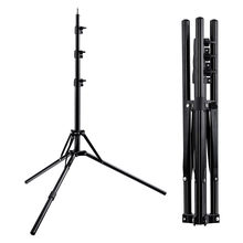 Fosoto Led Light Tripod Stand &1/4 Screw portable Head Softbox For Photo Studio Photographic Lighting Flash Umbrellas Reflector(China)