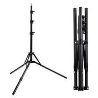 Fosoto Led Light Tripod Stand &1/4 Screw portable Head Softbox For Photo Studio Photographic Lighting Flash Umbrellas Reflector
