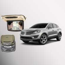 Bigbigroad для Линкольн МКС крыше автомобиля установлен в автомобиль светодиодный цифровой Экран с HDMI USB FM ТВ игры ИК удаленного флип Подпушка Мониторы DVD