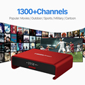 T95Upro Android 6.0 Smart TV Caja Amlogic S912 Set-top Box con 4 K Envío Árabe IPTV Canales Europa Italia Francés UK Media Player