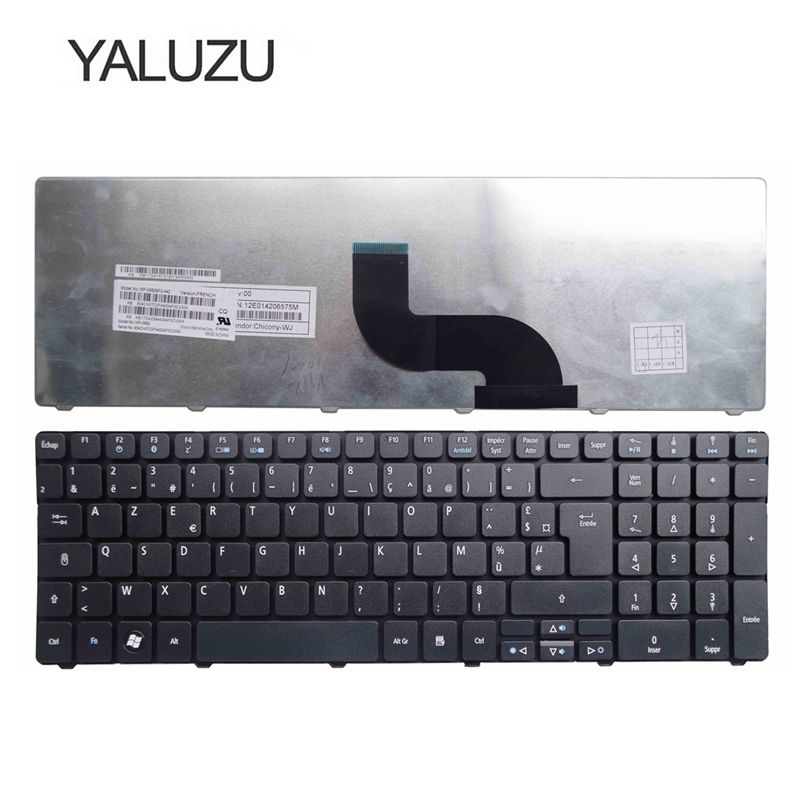 YALUZU French Keyboard For Acer Aspire 7551 5336 5410 5252 5742G 5742Z 5738Z 7736 7551G 7540 7540G 7535 7535g 7736G FR AZ