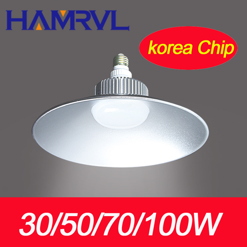 6pcs/carton 30/50/70/100W 150W LED High Bay industrial light factory Lighting Lamp 85~265V 3 years warranty White/Warm White 2pcs industrial lighting high bay light 150w 85 265v smd2835 led mining ceiling lamp for gymnasium warehouse factory workshop