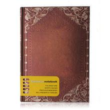 Sosw-Ретро Винтаж личные Тетрадь дневник журнал организатор книги Школа Офис Применение темно-коричневый