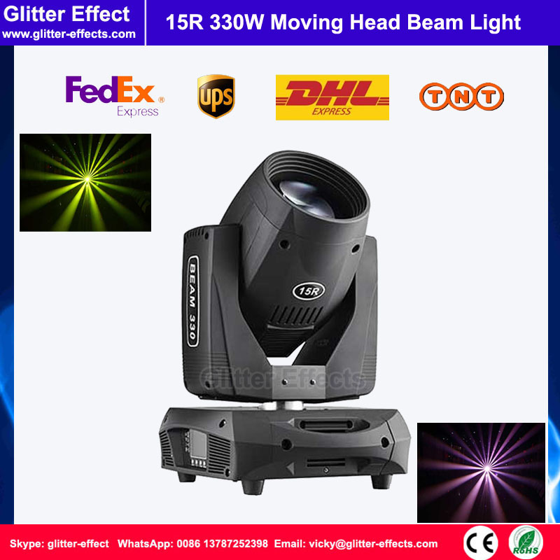 330W moving head beam light  15R sharpy DMX512 Stage light for night - Commercial Lighting