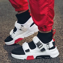 Buy GUDERIAN Men Fashion Shoes Breathable High Top Sneakers Outdoor Men Casual Shoes Comfortable Summer Sock Shoes Zapatillas Hombre directly from merchant!
