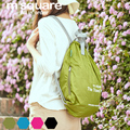 M Square Travel Foldable Lightweight Backpack Women Men Waterproof Drawstring Bag Mochila School Bags Bagpack Ultralight