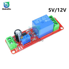 DC 5V 12V Delay NE555 Trigger Time Relay Shield Timing Timer Control Car Relays Timer Delay Switch Module Board Diy Tool