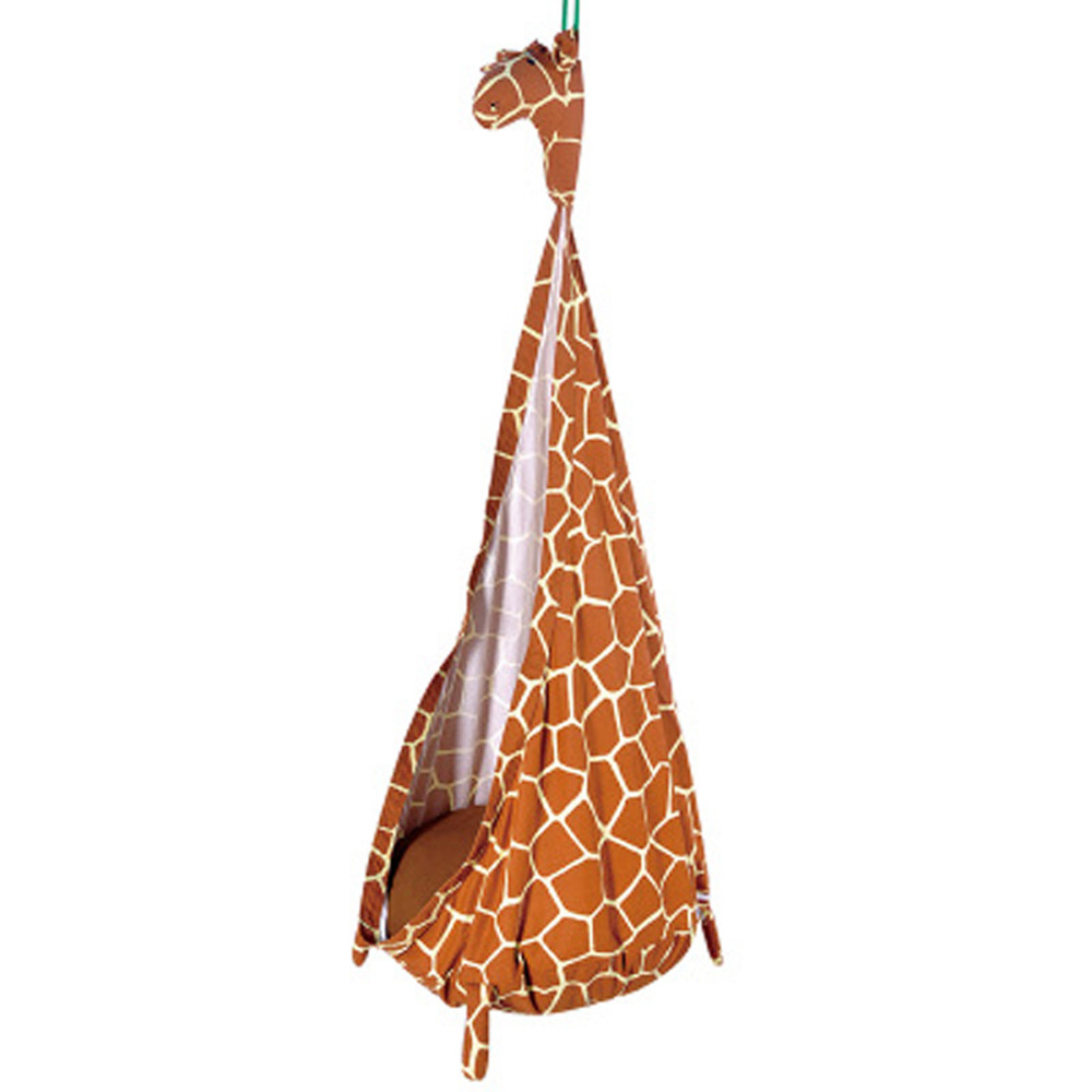 The giraffe design baby swing chair hanging basket