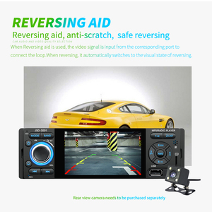 Image 2 - Podofo Autoradio 1Din Car Radio JSD 3001 4.1 MP5 Car Player Touch Screen Car Stereo Bluetooth 1Din Auto Radio Camera Mirror Link
