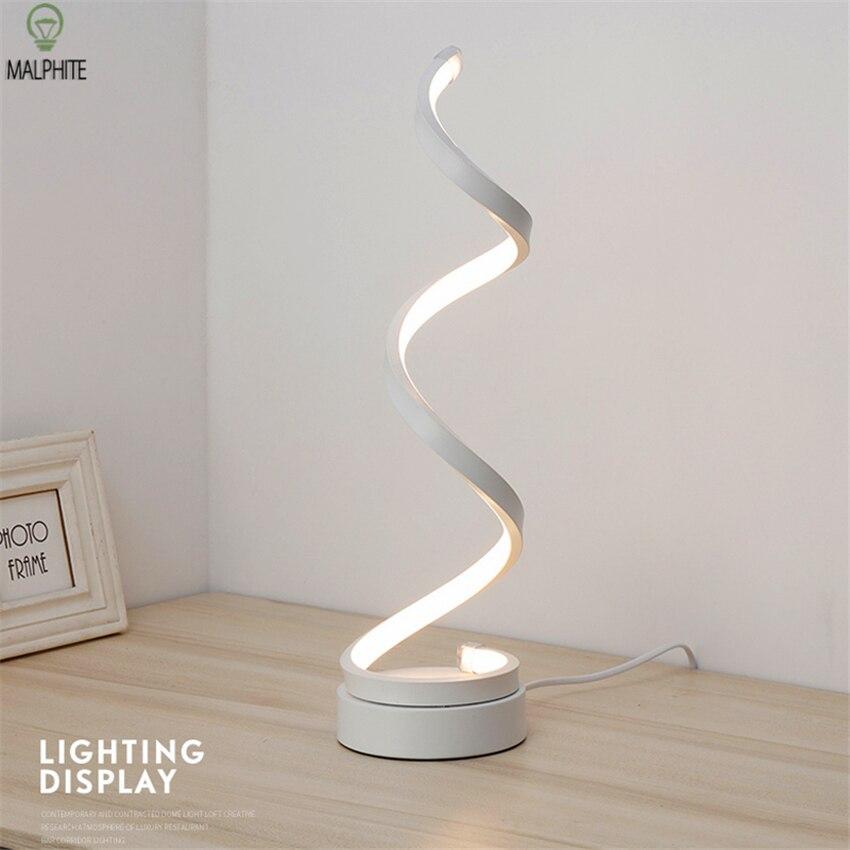 北欧寝室 LED テーブルランプベッドサイド、リビングルームシンプルでモダンな環境保護目アート読書ランプ装飾ランプ -