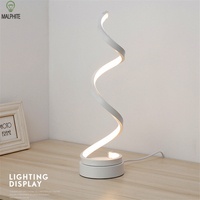 Nordic bedroom LED table lamp bedside living room simple modern environmental protection eye Art reading lamp decorative Lamps