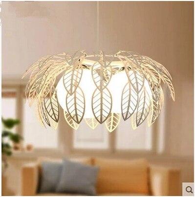 Modern Minimalist Creative Personality Glass Wrought Iron Chandelier Living Room Lights Restaurant Bedroom Lamps цена и фото