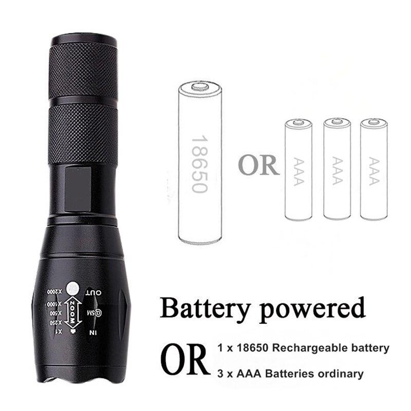 Lanternas e Lanternas ou pilhas aaa Suporte ao Dimmer : 5-8 Limas