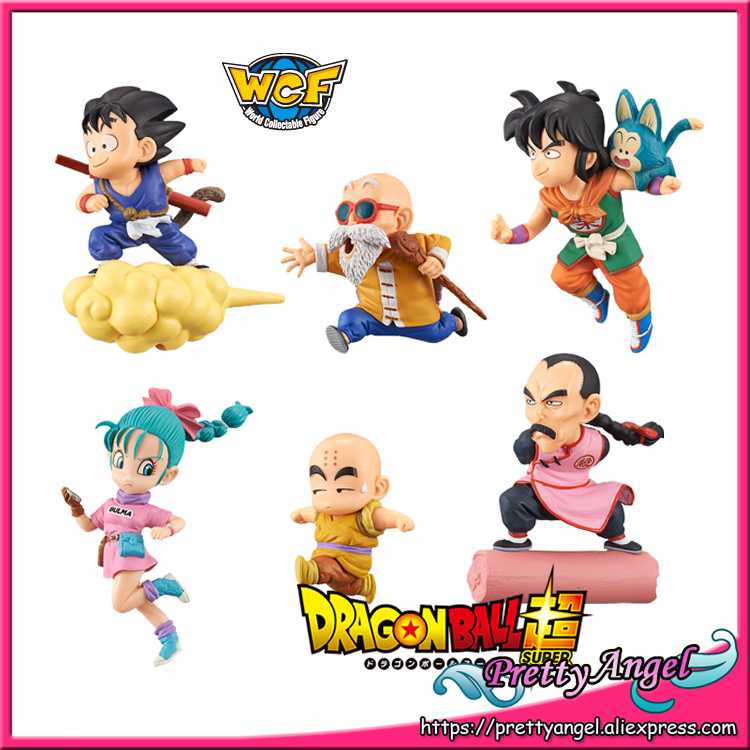 Anime Original BANPRESTO World Collectable Figure / WCF The Historical Characters Dragon Ball Toy Figure - Full Set of 6 Pieces original banpresto world collectable figure wcf the historical characters vol 3 full set of 6 pieces from dragon ball z