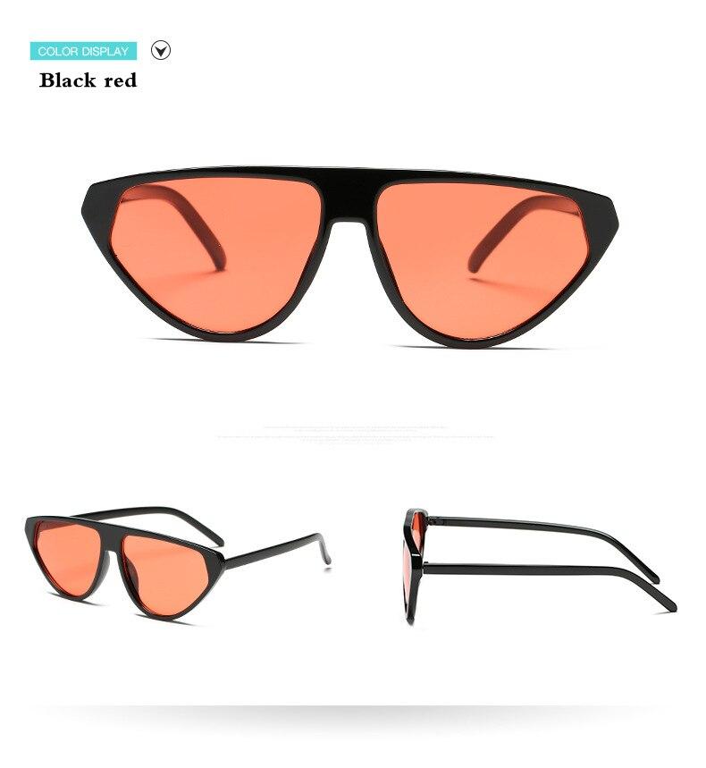 Women Fashion Classics Cat Eye Lunettes de soleil vintage miroir Nuances UV400 Eye Wear