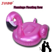 JIAINF Gameit Air Mattresses Inflatable Giant Flamingo Rideable Pool Toy Float Raft Water Sports Beach Pool Party Toys
