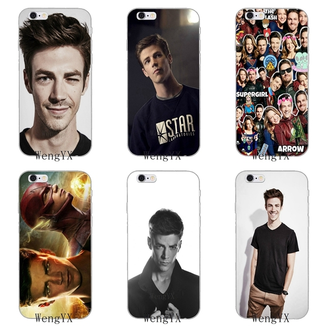 US $1 98 |DC Comics the flash Grant Gustin Ultra Thin Soft phone case For  Samsung Galaxy J1 J2 J3 J5 J7 A3 A5 A7 2015 2016 2017-in Half-wrapped Case