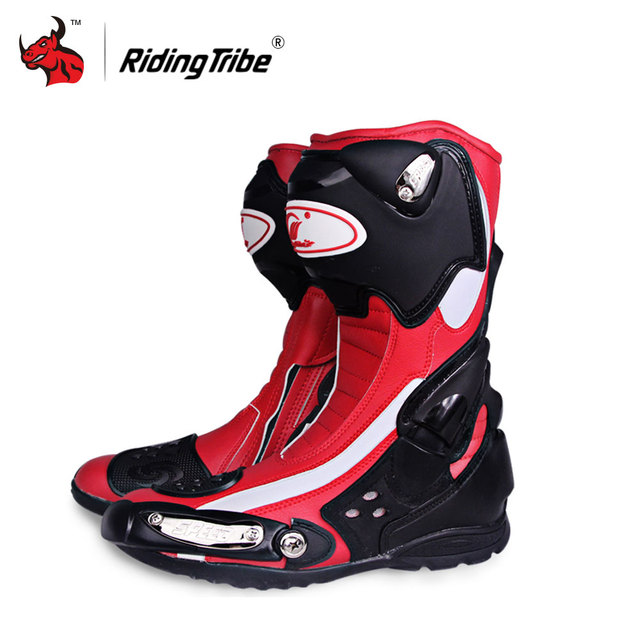 Riding Tribe Speed Motorcycle Boots Outdoor Sports Racing Shoes Boots Motocross Off-Road Motorbike Boots 2