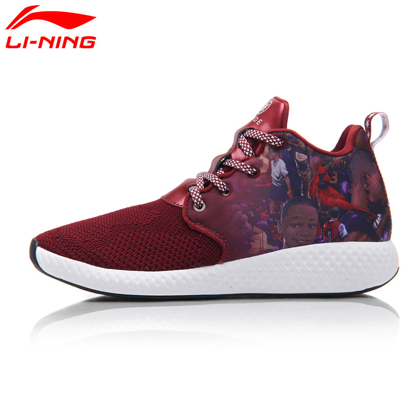 Li-Ning Men's Wade DOPE CLOUD Basketball Culture Shoes LiNing Mono Yarn Breathable Wearable Sneakers Sports Shoes ABCM039 XYL111 li ning men s fission iii wade professional basketball shoes lining cloud sneakers breathable sports shoes abam025 xyl109